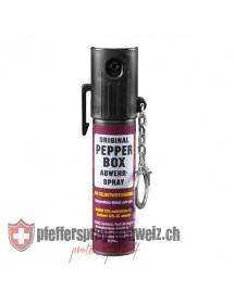 TW1000 / PEPPER-BOX, Pfefferspray PEPPER-FOG LADY mit Schlüsselanhänger, 20ml (Sprühnebel)_94