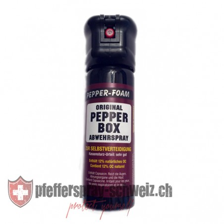 TW1000 / PEPPER-BOX, Pfefferspray Modell PEPPER-FOAM STANDARD, 63ml (aufschäumender Flüssigstrahl)_95